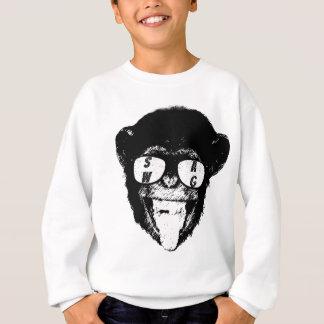 T-shirt de chimpanzé de butin