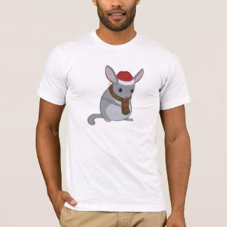T-shirt de chinchilla de Noël