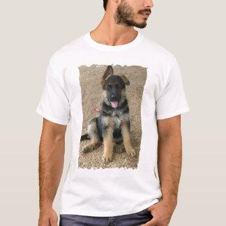 T-shirt de chiot de berger allemand