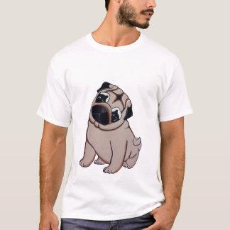 T-shirt de chiot de carlin de faon
