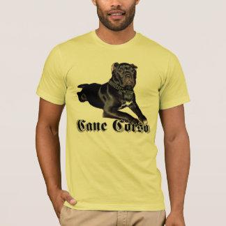 T-shirt de chiot de Corso de canne