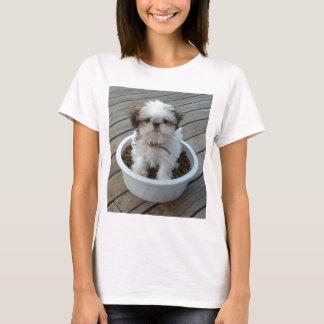 T-shirt de chiot de Shih Tzu