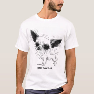 T-shirt de chiwawa