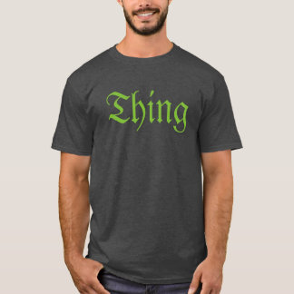 T-shirt de chose