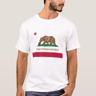 T-shirt de Chou frisé-ifornia