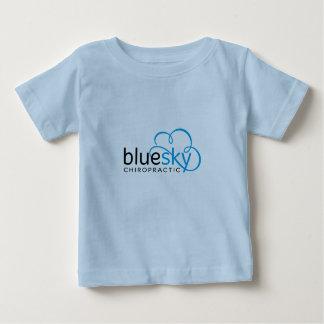 T-shirt de ciel de bleus layette