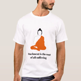 T-shirt de citation de Bouddha