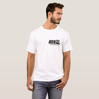 T-shirt de clivage de visite