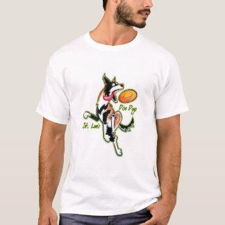 T-shirt de club de chien de disque de St Louis