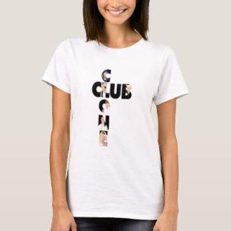 T-shirt de club de clone