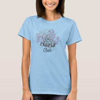 T-shirt de club de conversation de Chix