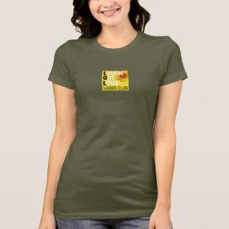 T-shirt de club de dames de LOL - petit avant de