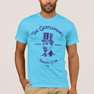 T-shirt de club du commerce du monsieur - croquis