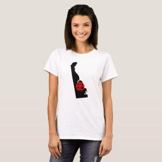 T-shirt de coccinelle d'état du Delaware