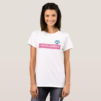 T-shirt de coeur d'Outlandia