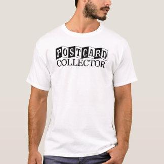 T-shirt de collecteur de carte postale (lettres