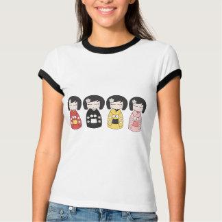 T-shirt de collection de Kokeshi