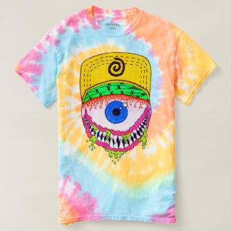 T-shirt de colorant de cravate avec la conception
