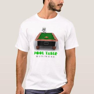 T-shirt de compagnie de table de billard