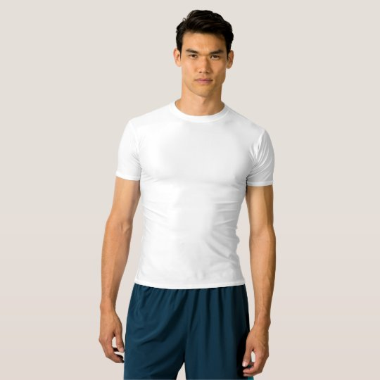 T-shirt performance compression pour homme, Blanc