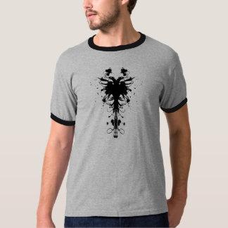 T-shirt de concepteur d'Eagle d'Albanais
