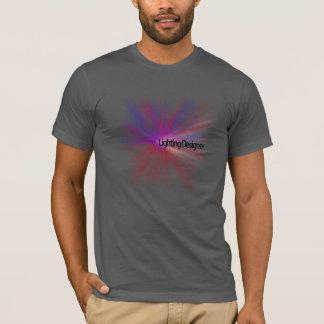 T-shirt de concepteur d'éclairage