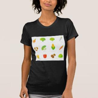 T-shirt de concepteurs avec le bio fruit tiré par