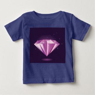 T-shirt de concepteurs avec le BLEU de diamant
