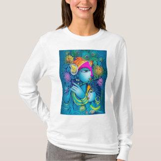 T-shirt de conception de Krishna de charge