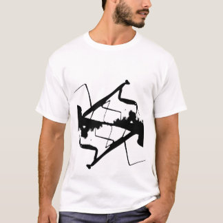 T-shirt de conception de mante de prière