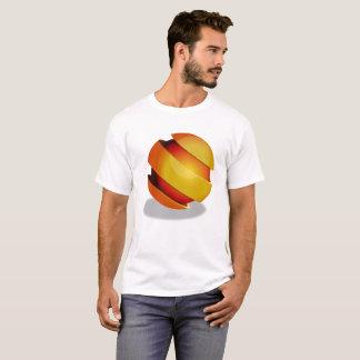 T-shirt de conception de sphère
