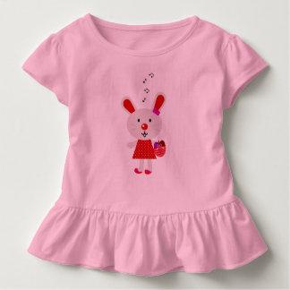 T-shirt de conception d'enfants avec le lapin