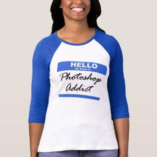 """T-shirt de conception """"d'intoxiqué de Photoshop"""""""