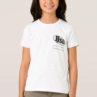 T-shirt de concurrence de filles de JJSC