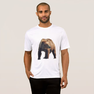 T-shirt de concurrent du Sport-Tek des hommes avec