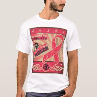 T-shirt de conscience de cancer du sein - HOMMES '