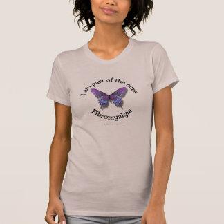 T-shirt de conscience de fibromyalgie