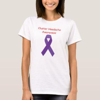 T-shirt de conscience de mal de tête de groupe des