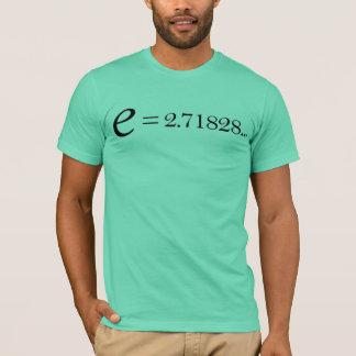 T-shirt de constante d'Euler