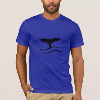 T-shirt de conte de baleine