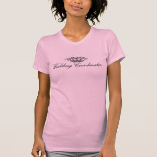 T-shirt de coordonnateur de mariage
