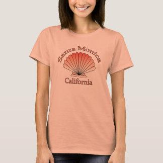 T-shirt de coquillage de Santa Monica la