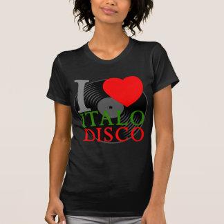 T-shirt De Corey rétro I disco d'Italo d'amour du tigre