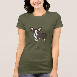 T-shirt de corgi de Gallois
