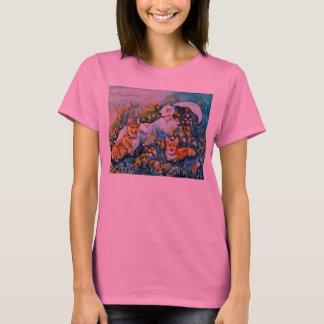 T-shirt de corgi de Gallois de Pembroke