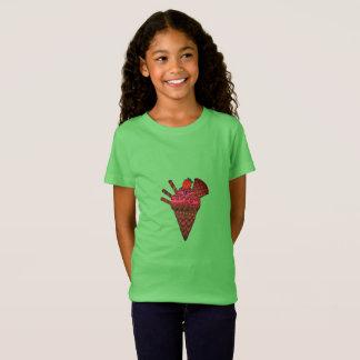 T-shirt de cornet de crème glacée