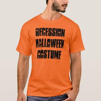T-shirt de costume de Halloween de récession,