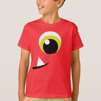 T-shirt de costume de monstre de Halloween de