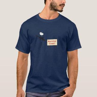 """T-shirt """"de côte de avertissement"""""""