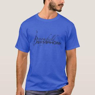 T-shirt de coton du BSO des hommes